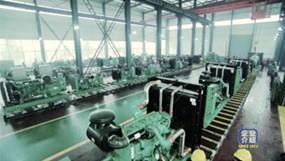 星光发电机生产车间