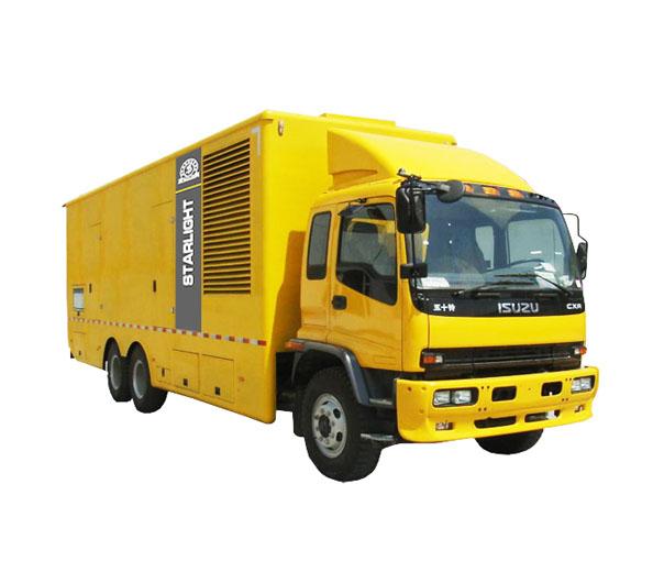 移动汽车发电机_发电机组